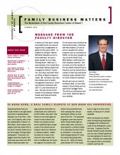 Family Business Matters Summer 2008