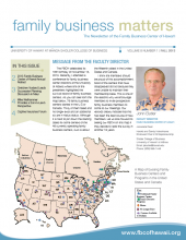 Family Business Matters Fall2013 Cover